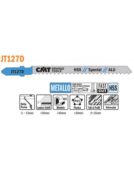 Metallo/Alluminio JT127D