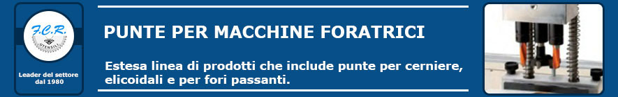 Punte per macchine foratrici